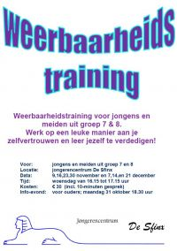 Start weerbaarheidstraining
